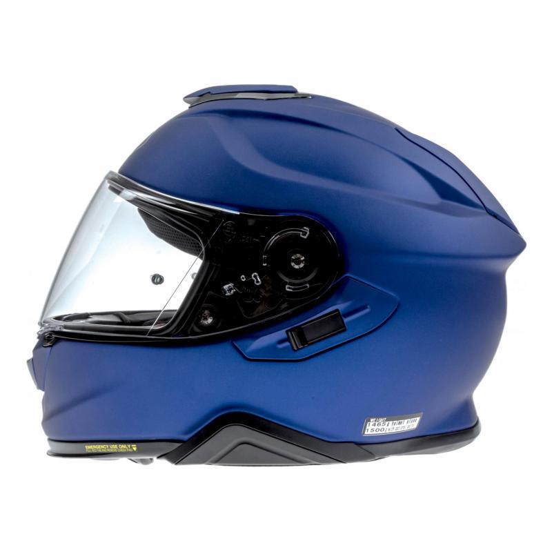 Casque intégral Shoei GT-Air II bleu mat - 1