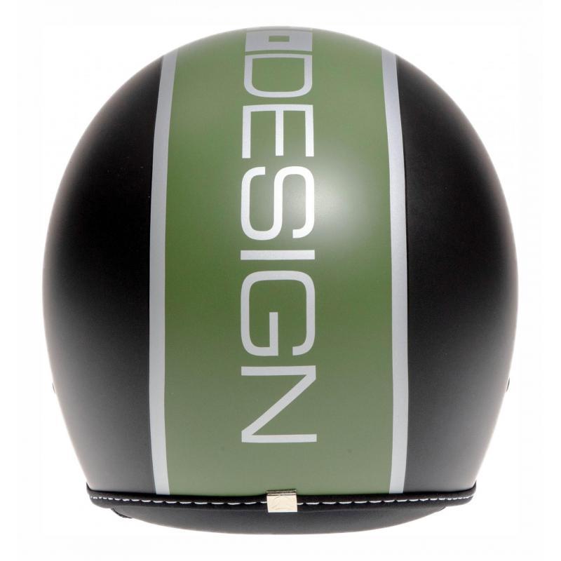 Casque jet Momo Design Blade noir mat/vert - 4
