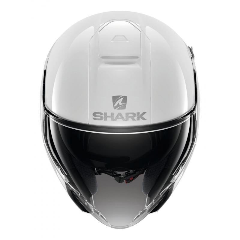 Casque jet Shark Citycruiser Blank blanc - 2