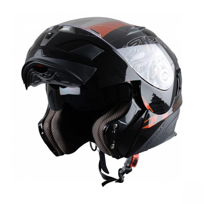 Casque Modulable Astone Rt 1000 Graphic Exclusive Arko noir/orange - 1