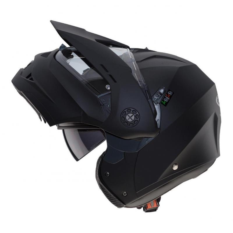 Casque modulable Caberg Tourmax Uni noir mat - 2