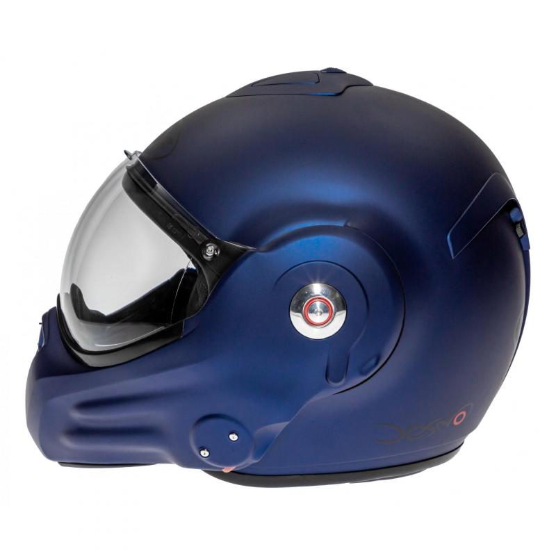 Casque modulable Roof RO32 Desmo Uni dark bleu mat - 2