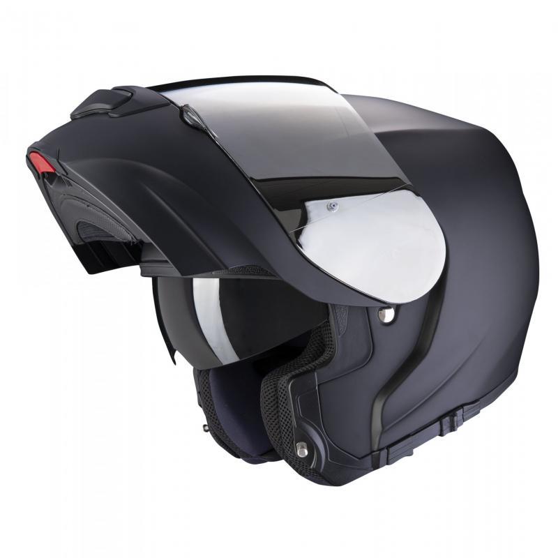 Casque modulable Scorpion EXO-3000 AIR Solid Noir mat - 1