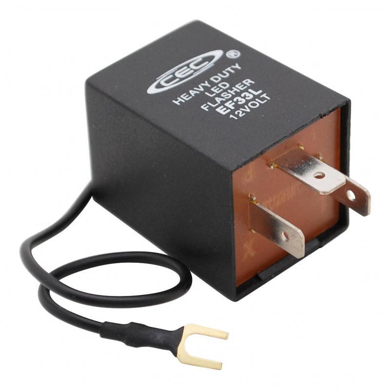 Centrale Clignotante Universelle à LED 3 Fils de 0.1 à 25 Ampères