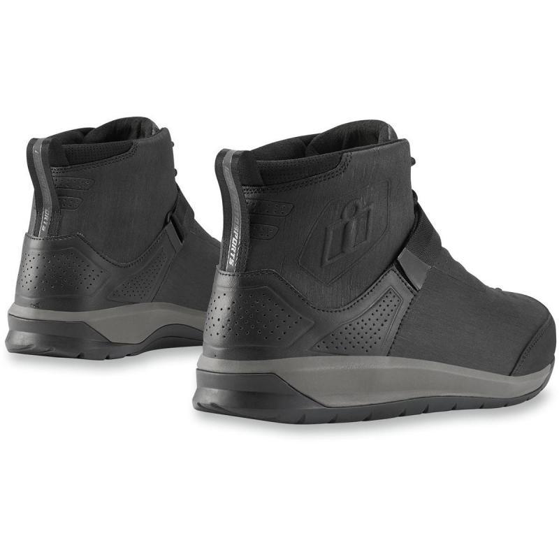 Chaussures moto Icon Superduty 5 noir - 1