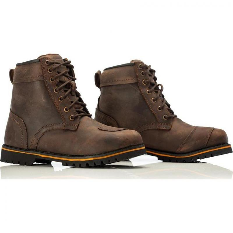 Chaussures moto RST Roadster II WP CE Vintage marron - 1