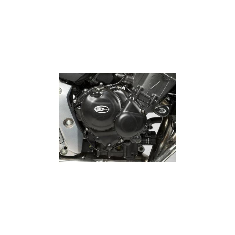 Couvre carter d'embrayage R&G Racing noir Honda CB 600 Hornet 07-12
