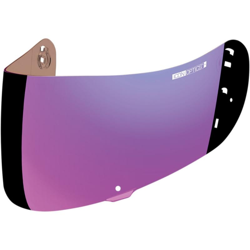 Écran Icon Optics iridium pour casque Airframe Pro/Airmada/Airform violet