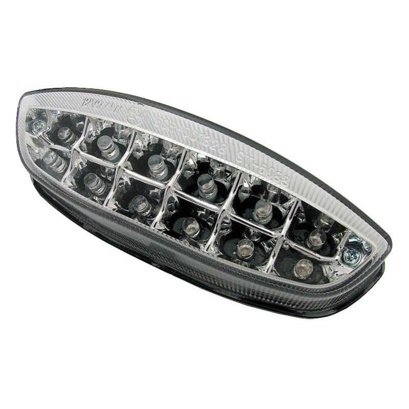 Feu arrière à LED avec clignotants intégrés pour Yamaha YZF-R125 08-14