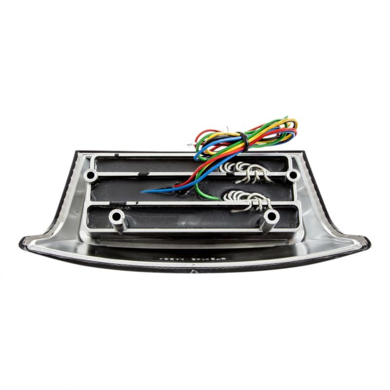 Feu arrière LED fumé avec clignotants Booster après 2004' homologué - 1