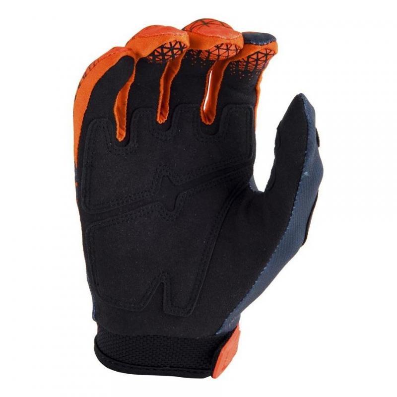 Gants cross Answer AR1 orange fluo/charcoal - 1