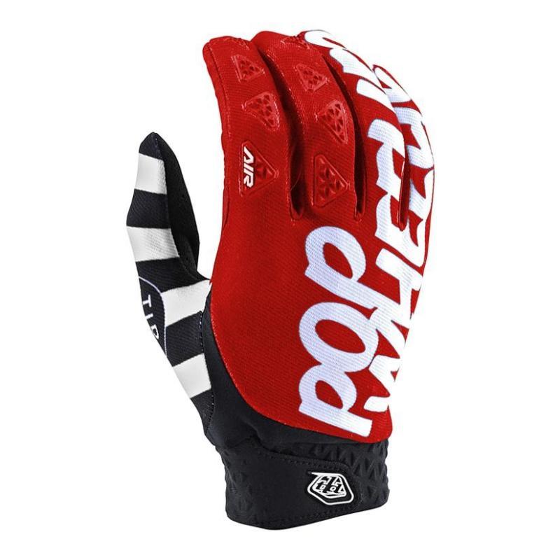 Gants cross Troy Lee Designs Air Pop Wheelies rouge