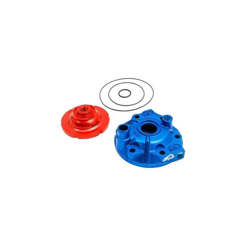 Kit culasse bleu avec dôme S3 Power haute compression pour KTM 300 EXC / Husqvarna 300 TE
