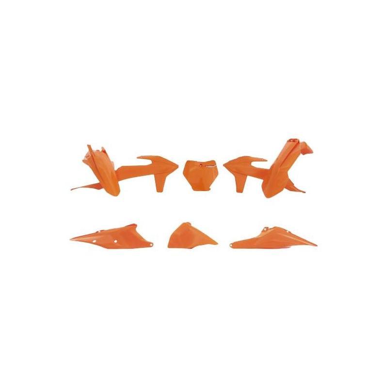 Kit plastique RTech KTM 250 SX 19-21 orange