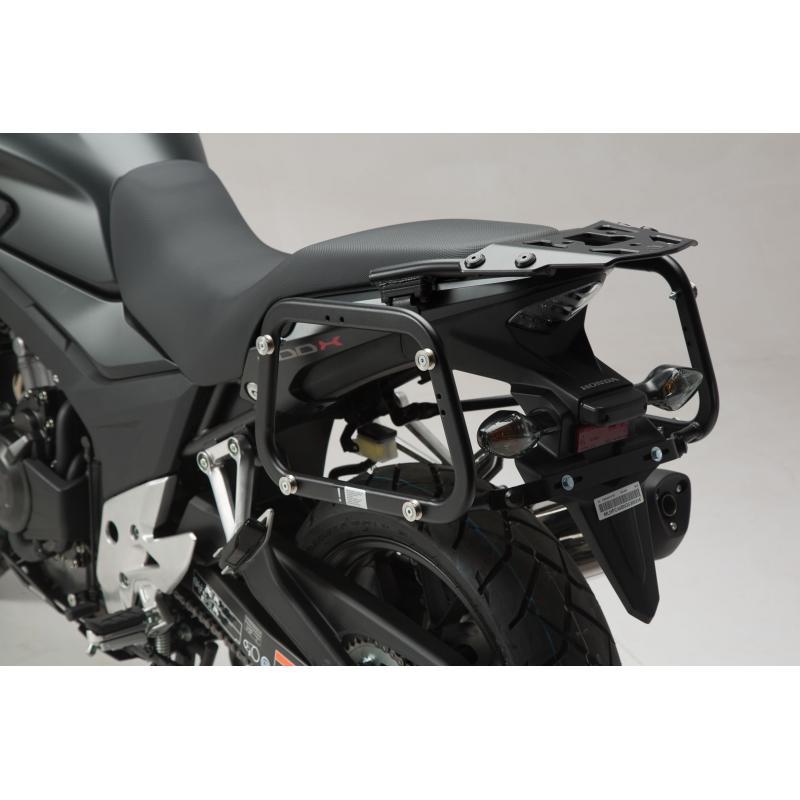 Kit valises SW-Motech Trax ION 37/37L grise Honda CB 500 X 13-18 - 2