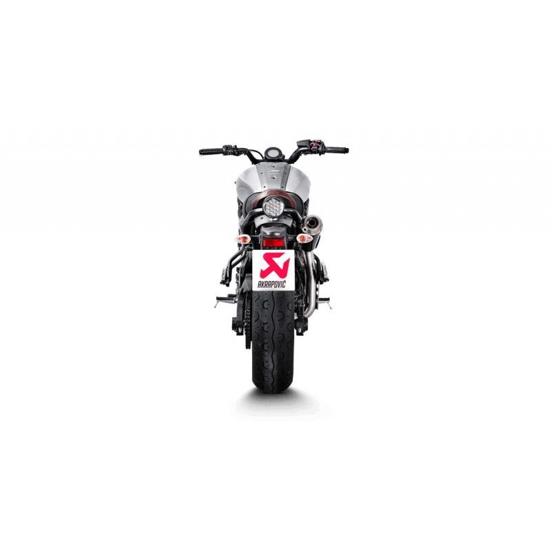 Ligne complète Akrapovic Racing line inox / titane Yamaha XSR 700 16-17 - 2