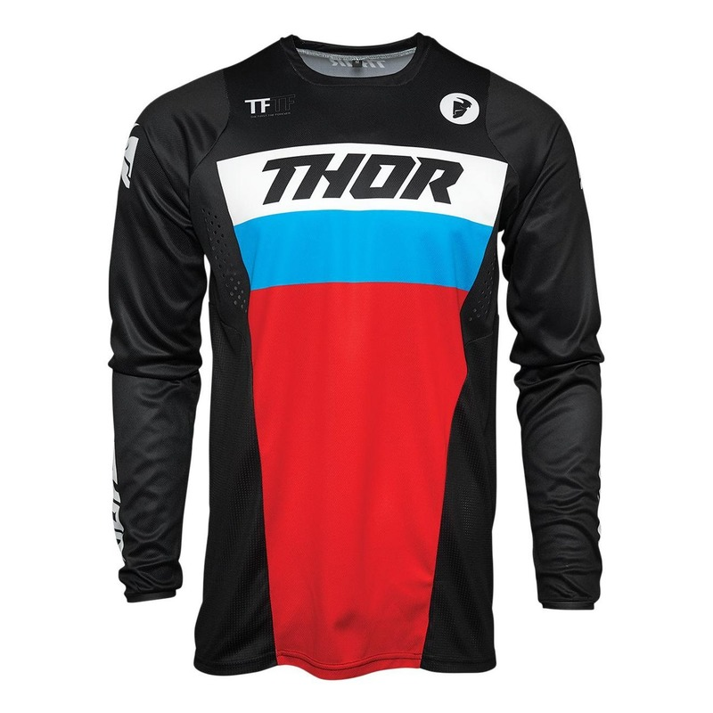 Maillot cross enfant Thor Pulse bleu/rouge/noir