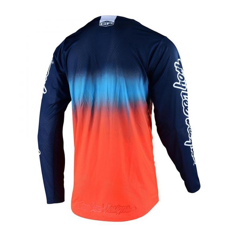 Maillot cross enfant Troy Lee Designs GP Stain'd Team KTM Bleu/orange - 1