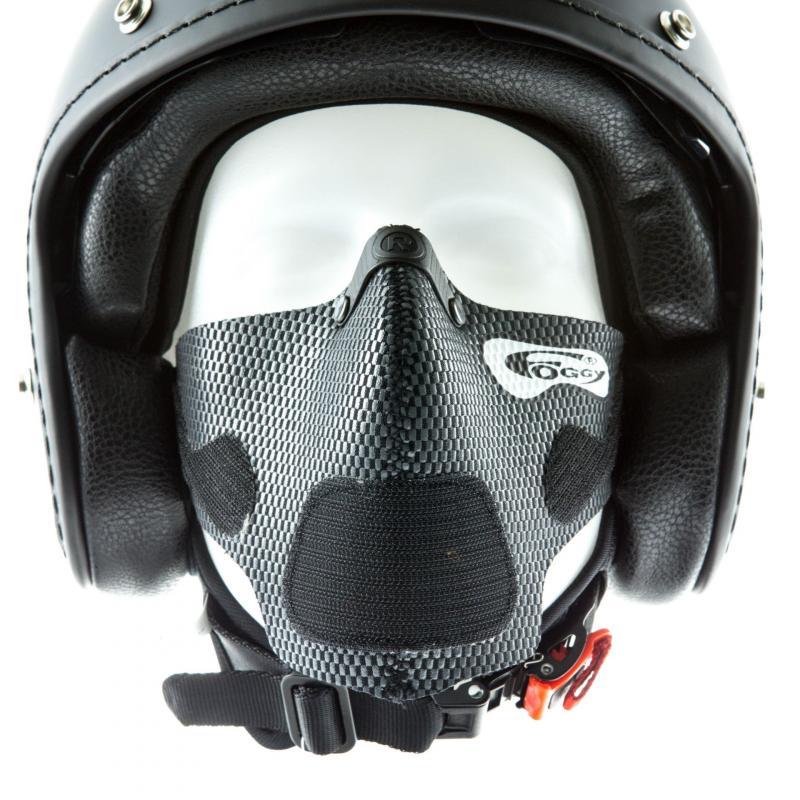 Masque anti-buée Respro Foggy carbone - 2