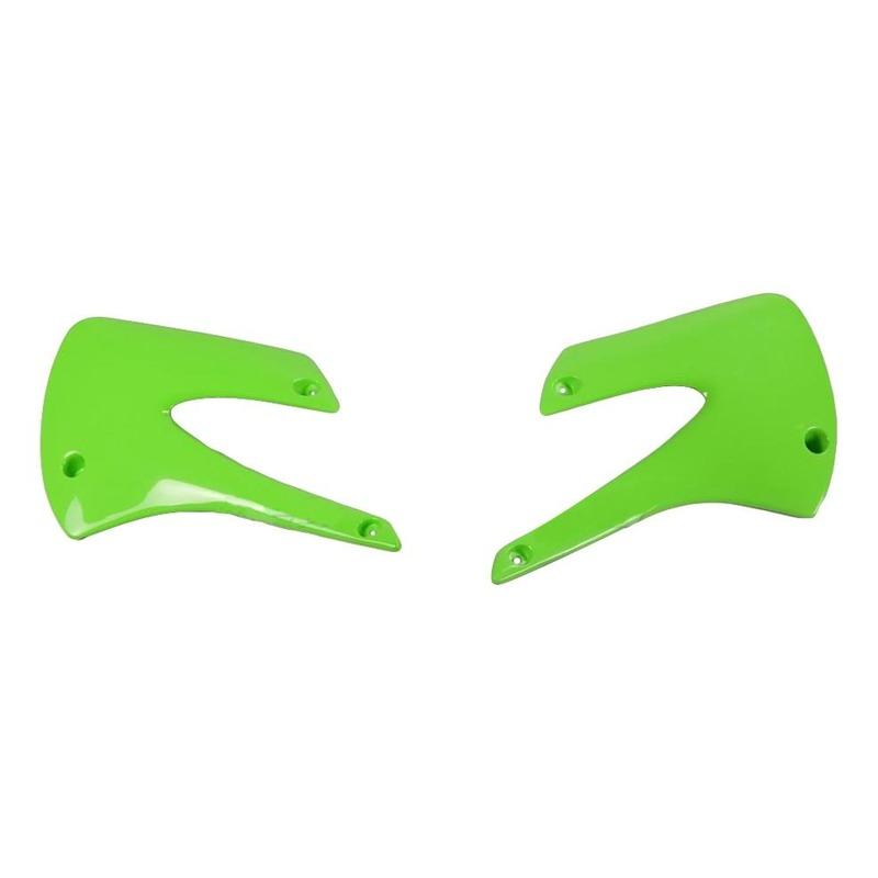 Ouïes de radiateur UFO Kawasaki 85 KX 01-13 vert (vert KX)