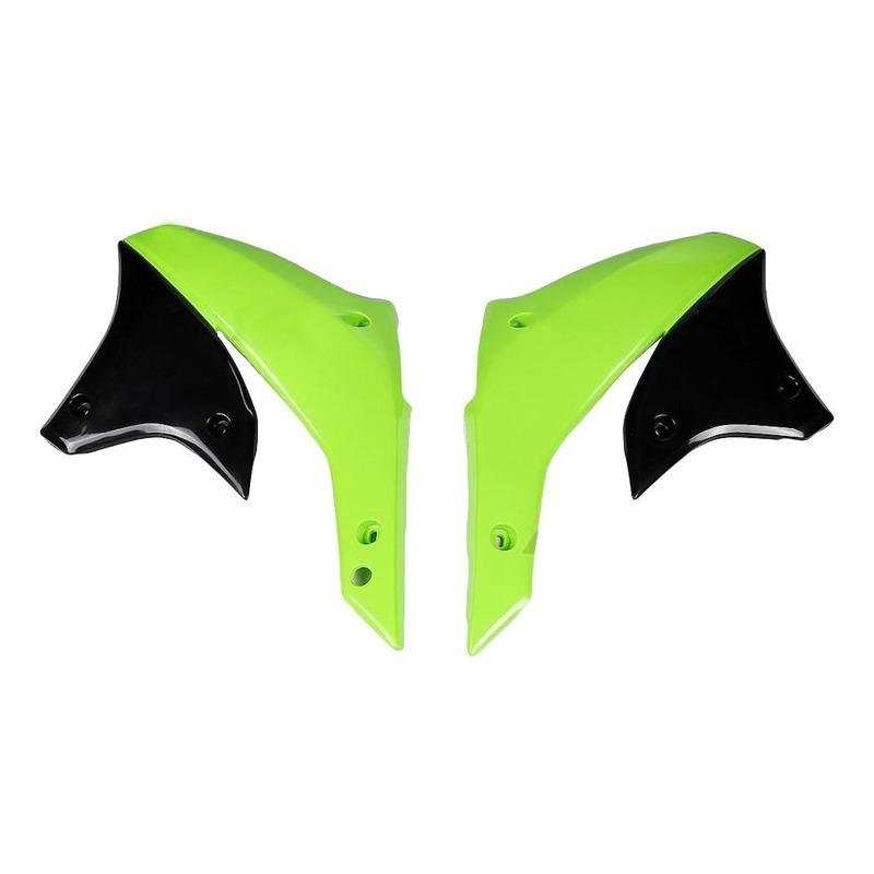 Ouïes de radiateur UFO Kawasaki KLX 450R 07-11 vert (vert KX)