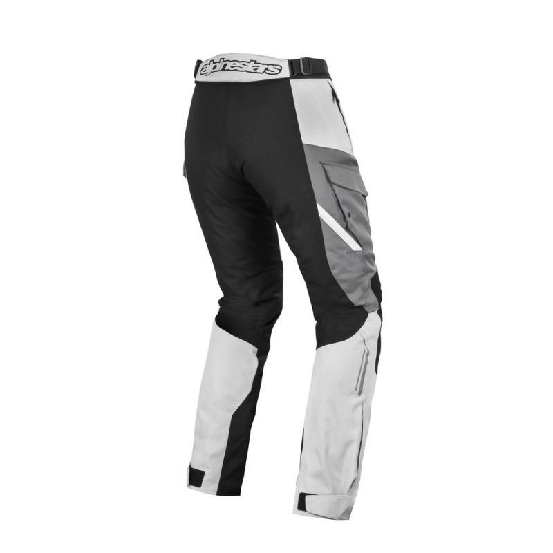 Pantalon textile Alpinestars Stella andes V2 Drystar gris clair/noir/gris foncé - 1