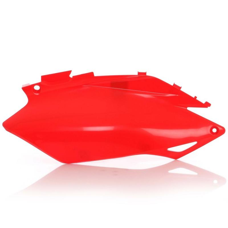 Plaques numéro latérales Acerbis Honda CRF 250R 11-13 rouge (paire)