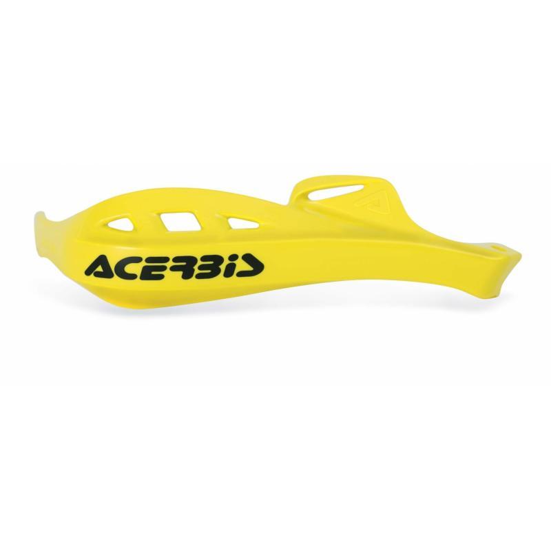 Plastiques de remplacement Acerbis pour protège-mains Rally Profile jaune (paire)