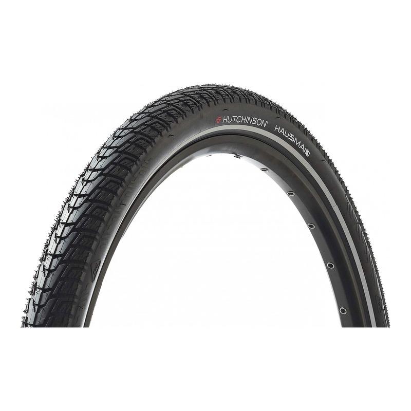 Pneu vélo VTT Hutchinson Haussmann TR noir (27,5''X1.75'')