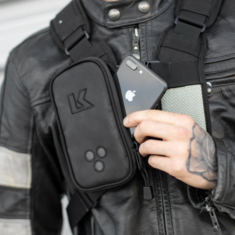 Pochette Kriega pour harnais accès mains droite - 3