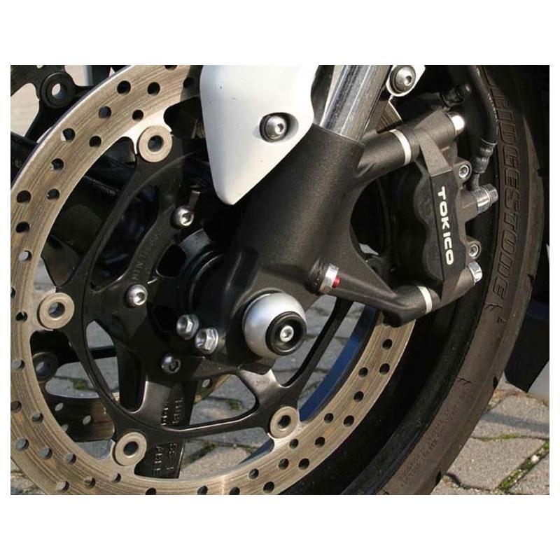 Protection de fourche LSL rouge Suzuki V-Strom 1000 14-18 - 1