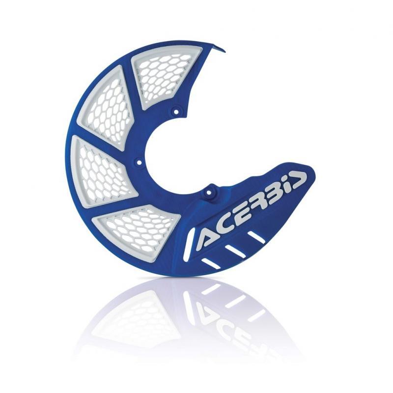 Protège disque de frein avant Acerbis X-BRAKE 2.0 bleu