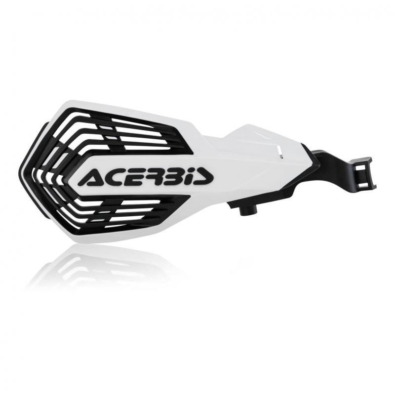 Protège-mains Acerbis K-Future Husqvarna 250 FC 14-20 blanc/noir