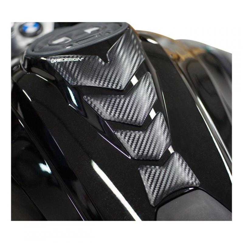Protège réservoir Onedesign Moon Soft Touch carbone mat
