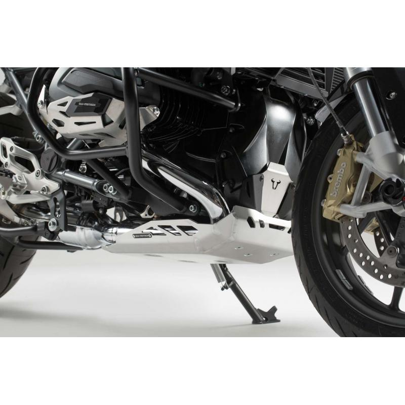 Sabot moteur SW-MOTECH gris BMW R1200R / R1200RS 15- - 1