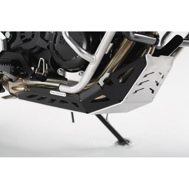 Sabot moteur SW-MOTECH noir / gris BMW GS / Husqvarna Nuda 900 - 1