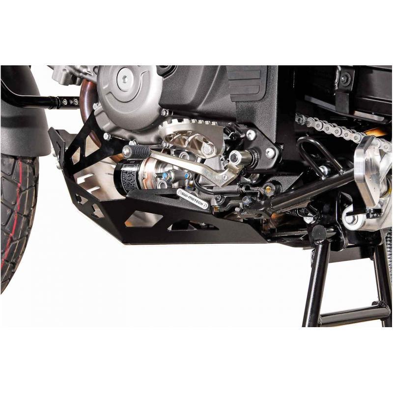Sabot moteur SW-MOTECH noir / gris Suzuki DL650 11- / XT 15- - 2