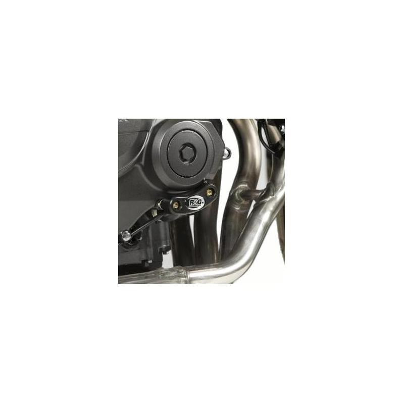 Slider moteur droit R&G Racing noir Honda CBR 600 F 11-14