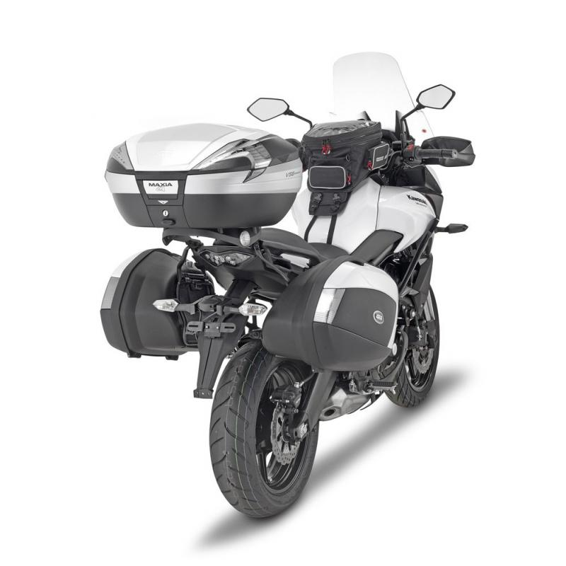 Supports de valises latérales Monokey Side Givi PLX Kawasaki 650 Versys 15-18