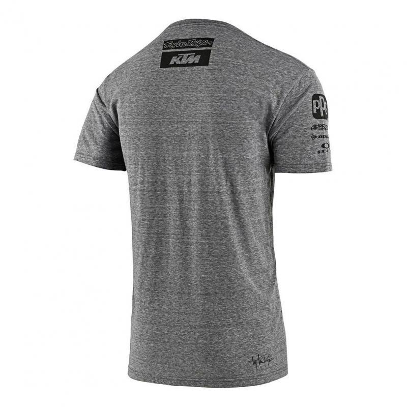 Tee-shirt Troy Lee Designs Team KTM 2020 gris - 1
