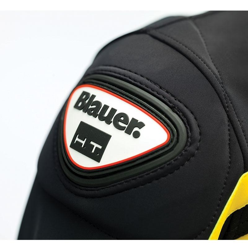 Veste moto homme Blauer Easy Rider noir/jaune - 2