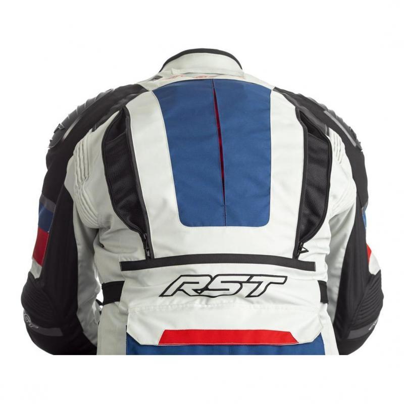 Veste textile RST Adventure-X Ice/bleu/rouge - 3