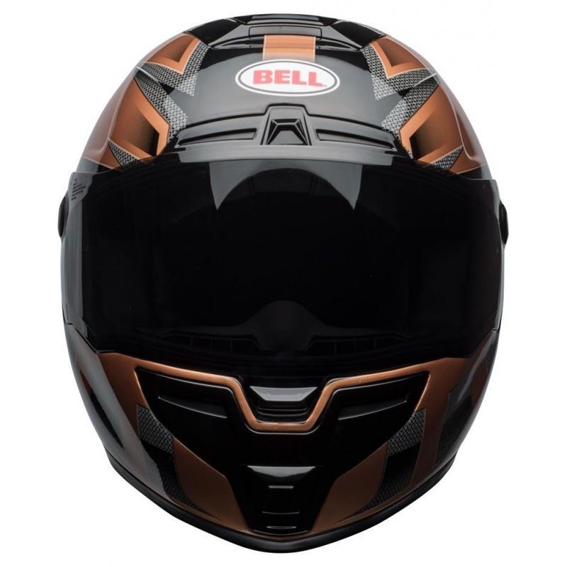 Casque intégral Bell SRT Predator copper/noir - 3