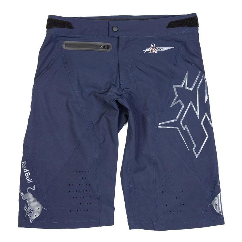 Short vélo Kini Red Bull Trail Hunter bleu nuit