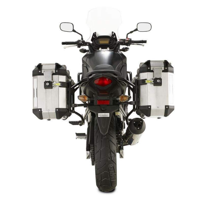 Supports pour valises latérales Givi Trekker Outback Honda CB 500 X 13-