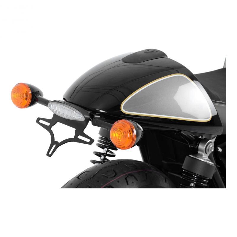 Support de plaque d'immatriculation R&G Racing noir Benelli TNT 1130 Trek 06-17