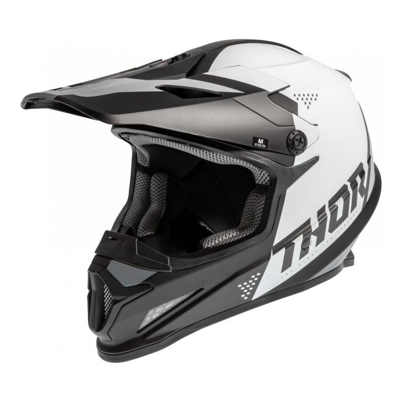 Casque cross Thor Sector Blade noir/blanc