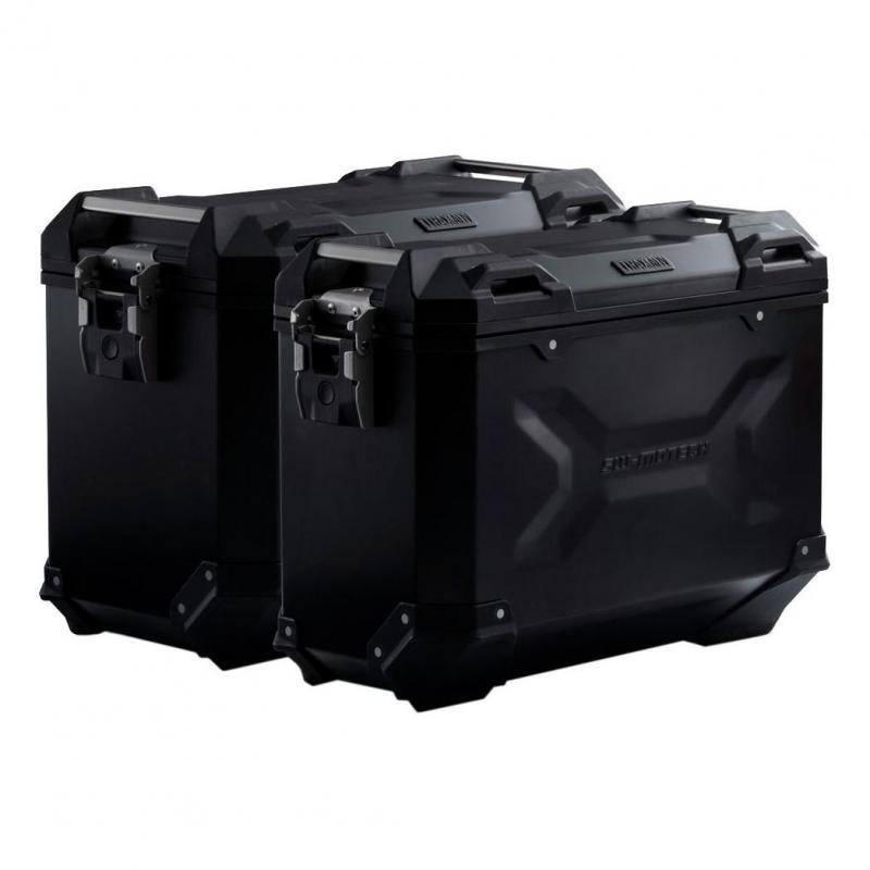 Kit valises SW-Motech Trax ADV 45L noires support EVO BMW R 1250 R 2019