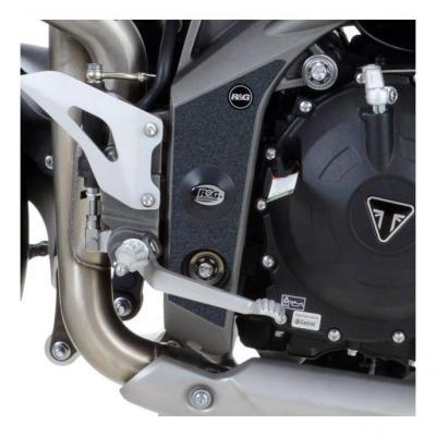 Adhésif anti-frottements R&G Racing noir cadre Triumph Speed Triple 1050 11-15