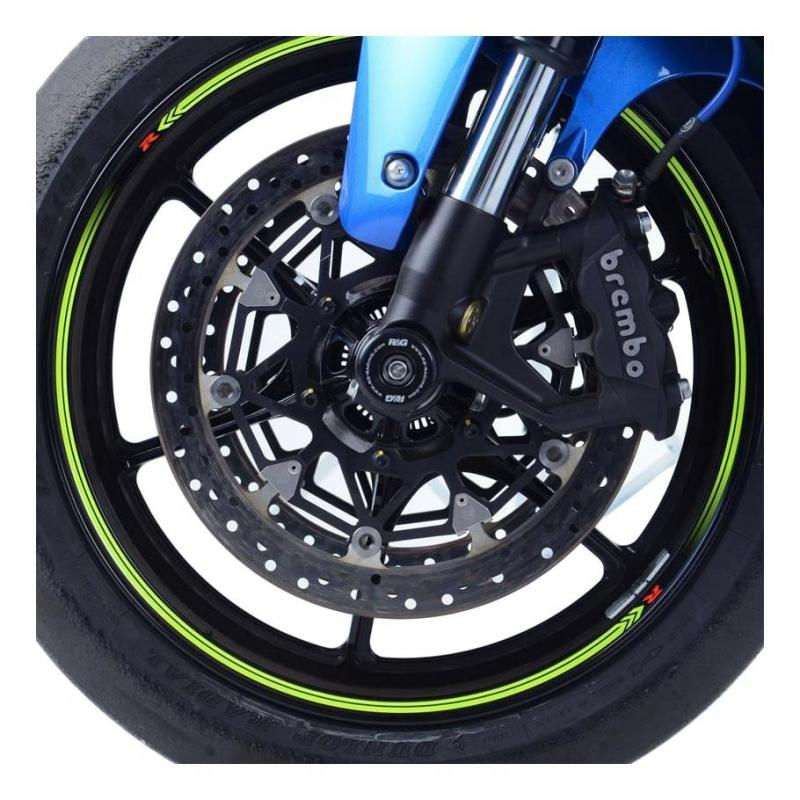 Tampons de protection de fourche R&G Racing noirs Ducati 1200 XDiavel 16-18
